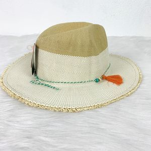 Pistil Women's Cream OS Sun Natural Straw Wide Hat